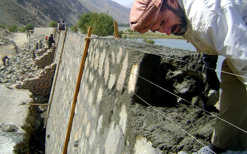 Afghanistan - KFZ Irrigation Masonry