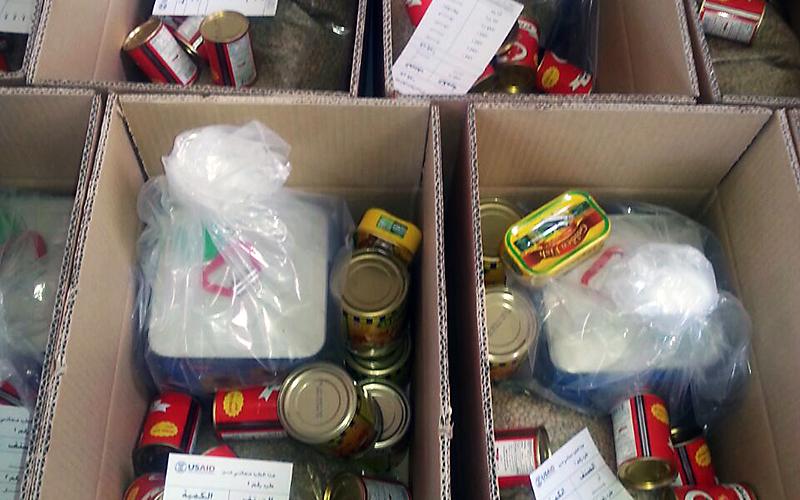 Syria Emergency Food Security Program - food shipments