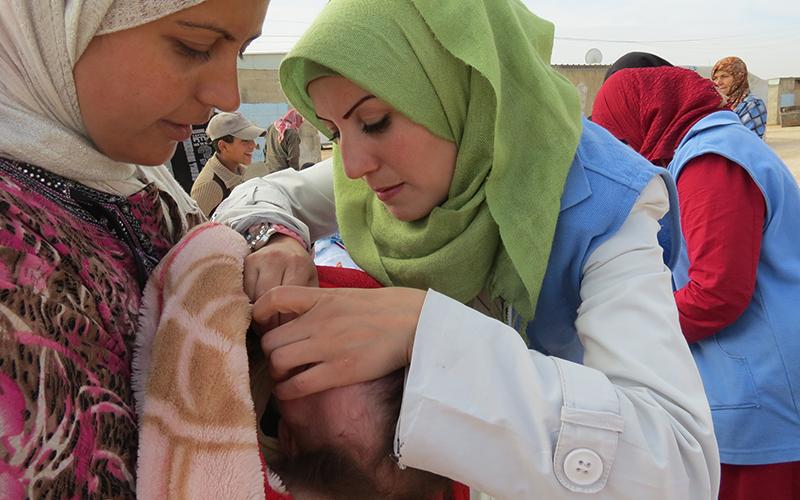 Syria - Polio Vaccination