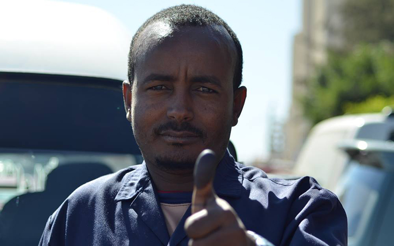 Yemen Somali Election Voter