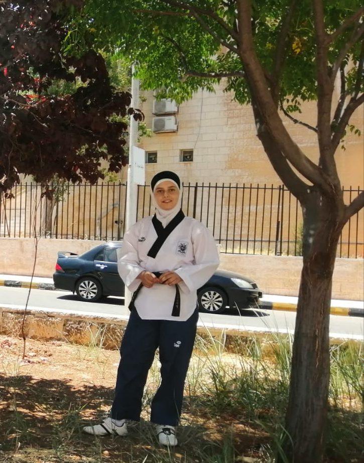 TIGER Girl Rama after the Asian Taekwondo Championship