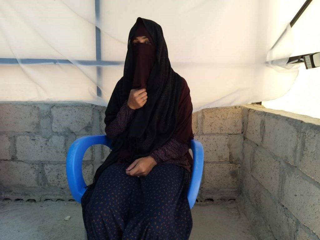 IDP woman from CAS program in Northeast Syria