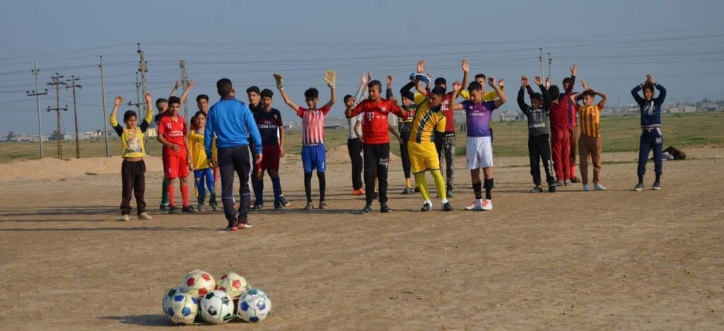Iraq_Youth Committee_Sports_C2MQ_UNHCR_WRD2020_community engagement