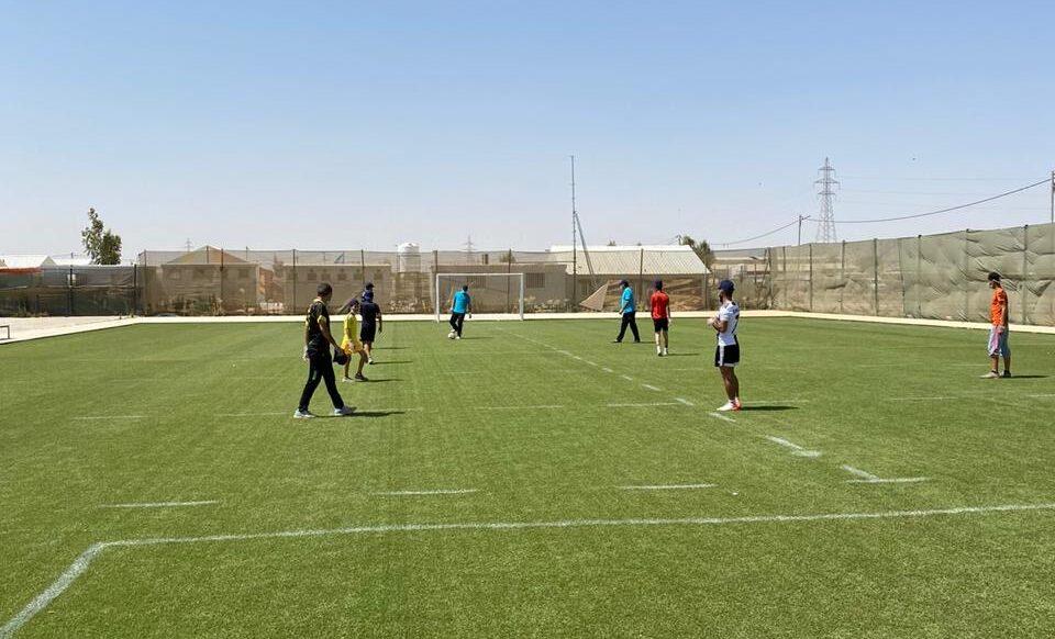 Camp_CBP_UNHCR_youth_sports_football_COVID19