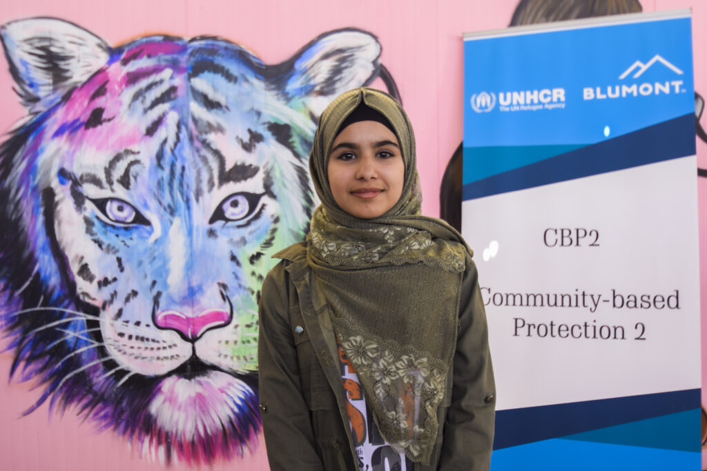 Jordan_Zaatari Camp_CBP_UNHCR_Eman_TIGER_Youth Day