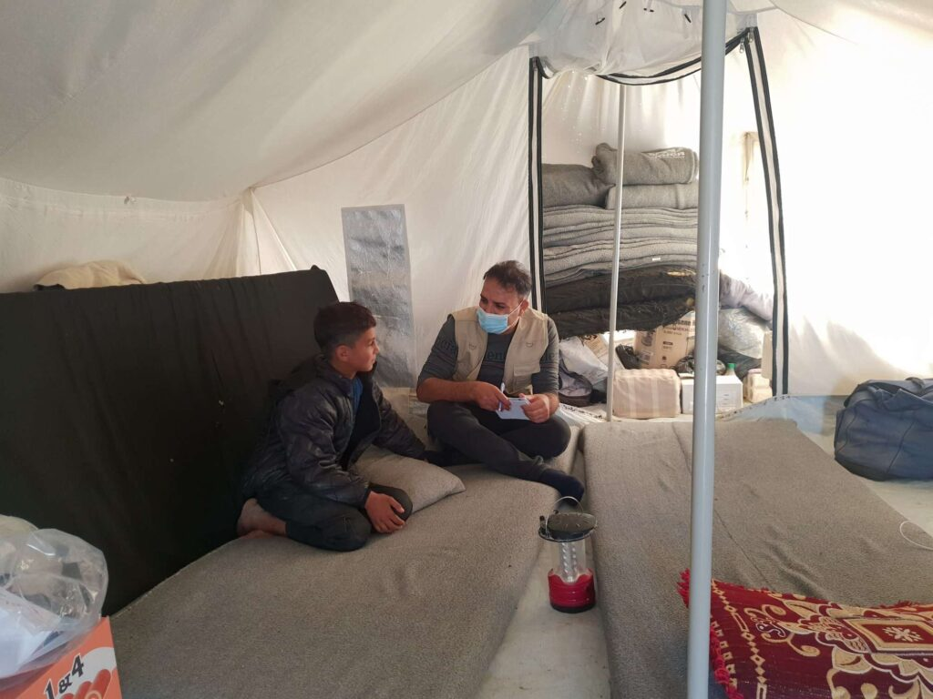 Syria_NES_PRM_Displacement_2020_Unaccompanied Child