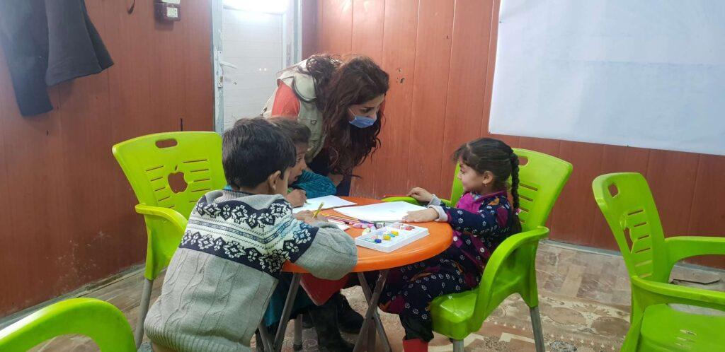 Syria_PRM_NES_CCCM_Children_Amenah